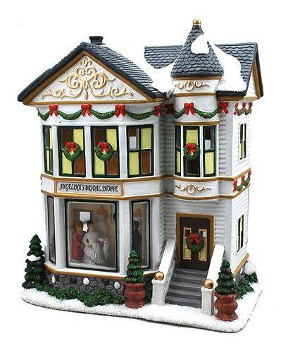 Thomas Kinkade Village Christmas Miniatures Collection