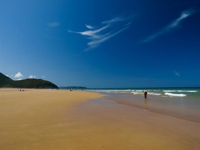 Cantabria - Berria beach - Santoña
