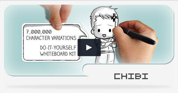 50 mejores imgenes de video editing en pinterest plantillas chibi a whiteboard and cutout do it yourself kit new after effects project solutioingenieria Image collections