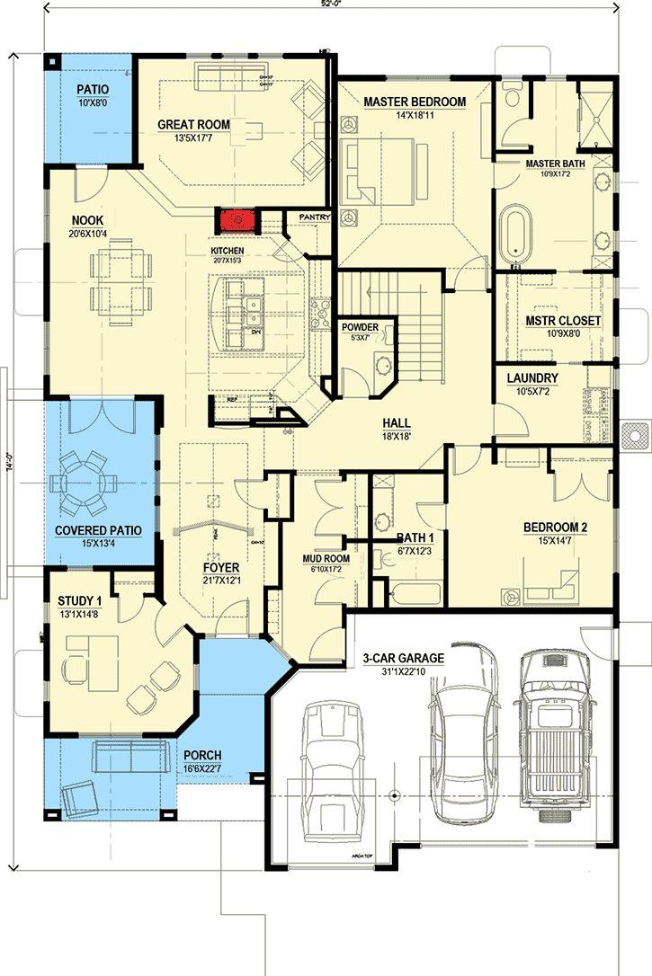 327 best house plans images on pinterest master suite open
