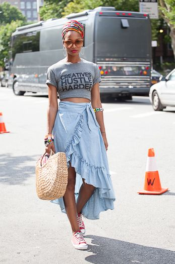 Street Style: Bold & Beautiful Punk Princesses from AFROPUNK Fest