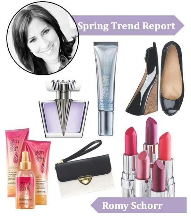 Avon Insider, Avon Spring Trend Report Romy Schorr, Avon Brand...