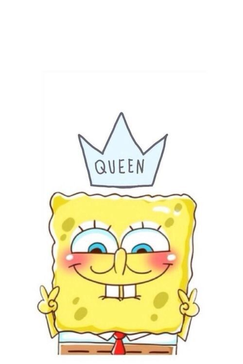 funny, queen, smiles, sponge bob, timeline cover, wallpaper, cute wallpapers
