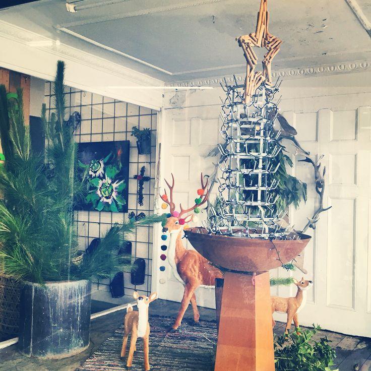 Christmas 2015 Window Installation | twig + moss