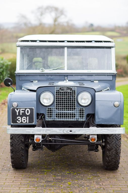 1957 Land Rover Series I 107 Inch Station Wagon