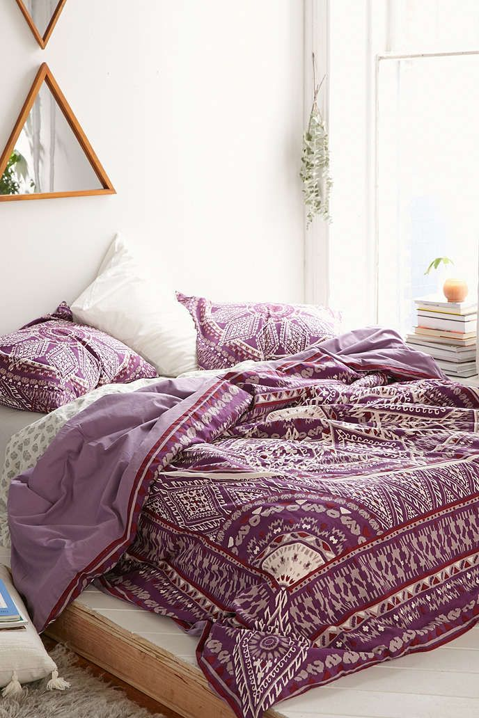 Magical Thinking Petra Geo Medallion Duvet Cover - Urban Outfitters