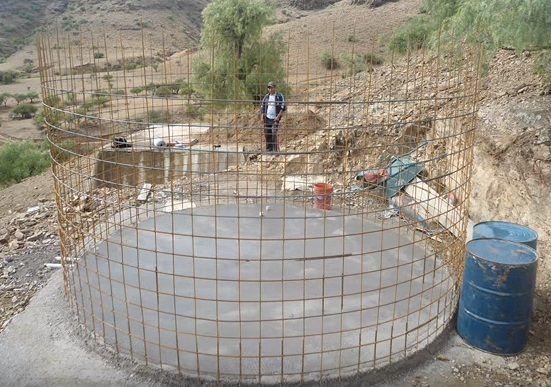 Como construir un tanque de agua como construir un for Como hacer un tanque de agua para rustico