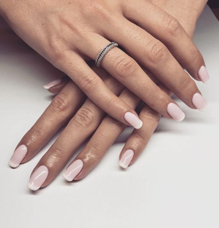 #french #nails #natural #beauty