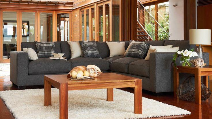 Mornington Modular Lounge Suite - Lounges - Living Room - Furniture, Outdoor & BBQs | Harvey Norman Australia