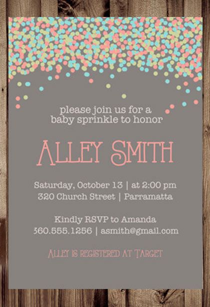 best  baby sprinkle shower ideas on   sprinkle shower, Baby shower invitation