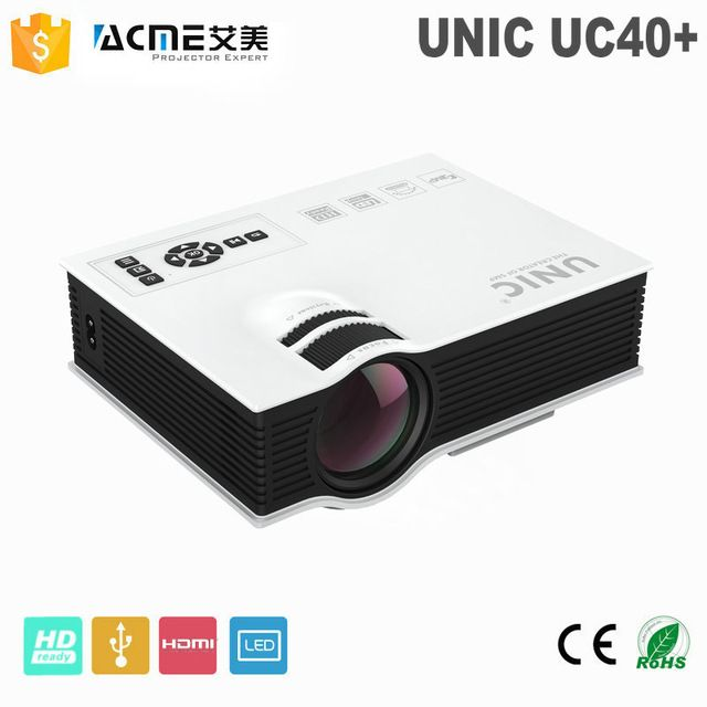 Newest Original UNIC UC40 Cheap HD Home Cinema Projector HDMI LCD LED Game PC Digital Mini Projectors 1080P Proyector 3D Beamer US $62.04 /piece To Buy Or See Another Product Click On This Link  http://goo.gl/EuGwiH