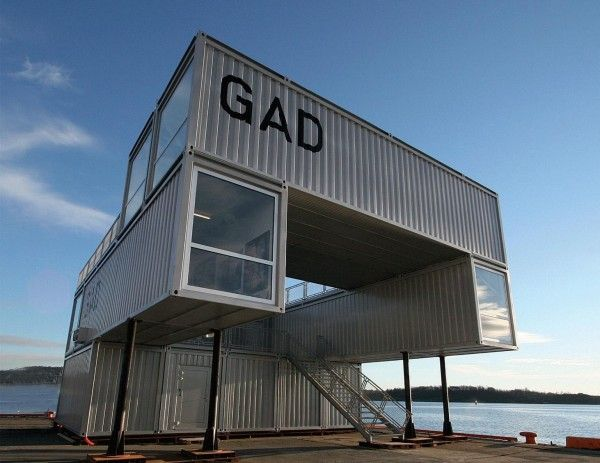 GAD GALLERY (Shipping Container Architecture)