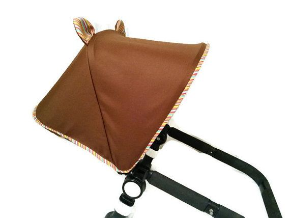 Custom Canopy Hood for Bugaboo Cameleon, Donkey , Buffalo or Orbit Baby G2 Dachbezug Zonnekap