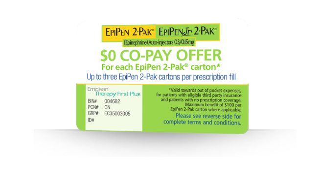 Discount coupons for epipen 2 pack
