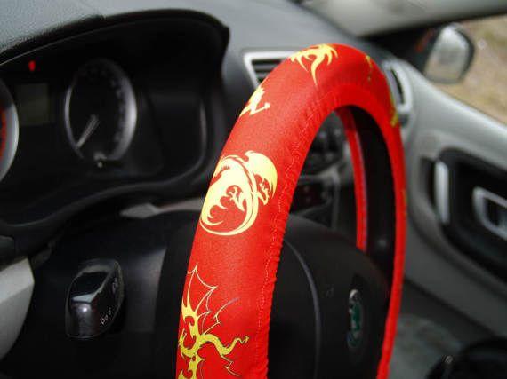 Lenkradbezug Autozubehör Geburtstagsgeschenk für ihn Drachenstil Dekor Drachengeschenk Geschenk für den Menschen Autozubehör Raddekore