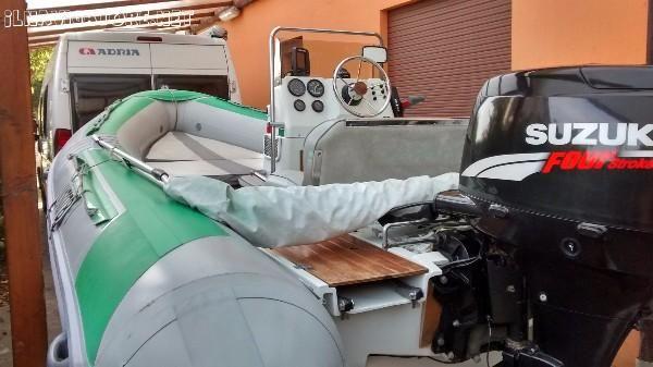 #gommone LOMAC #modello 520 IN  - #omologato per n. 7 #persone – CE cat. C,  #motore 4 tempi ... #annunci #nautica #barche #ilnavigatore