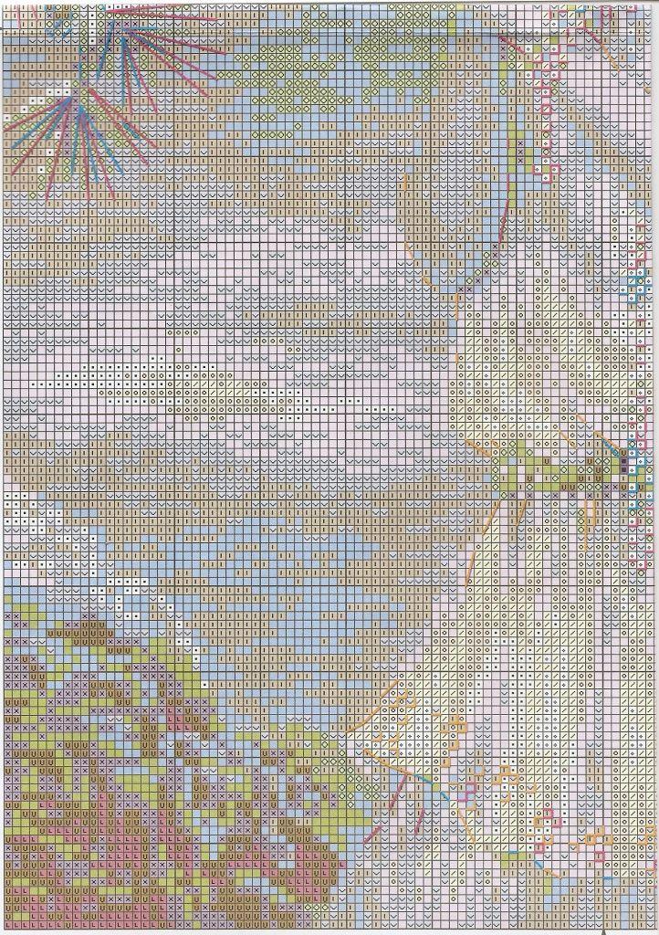 Схема вышивки Старая фотография. Ривьера (Riolis) 1 из 4