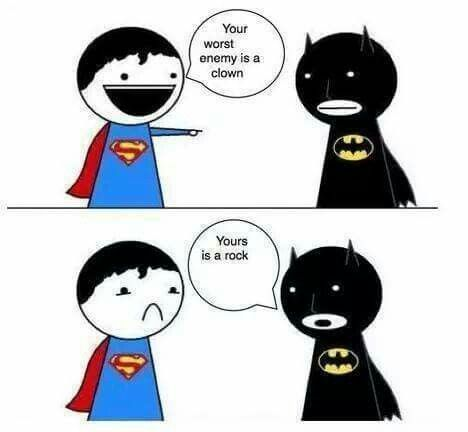 Batman beats superman anyday of the week. 'Nuff said