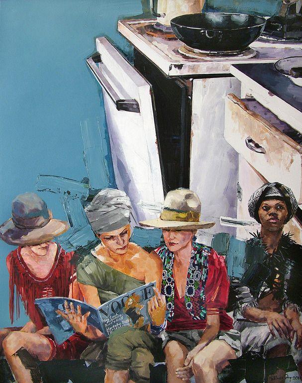 Martinho Dias, 1968 ~ Portuguese Abstract Realism painter
