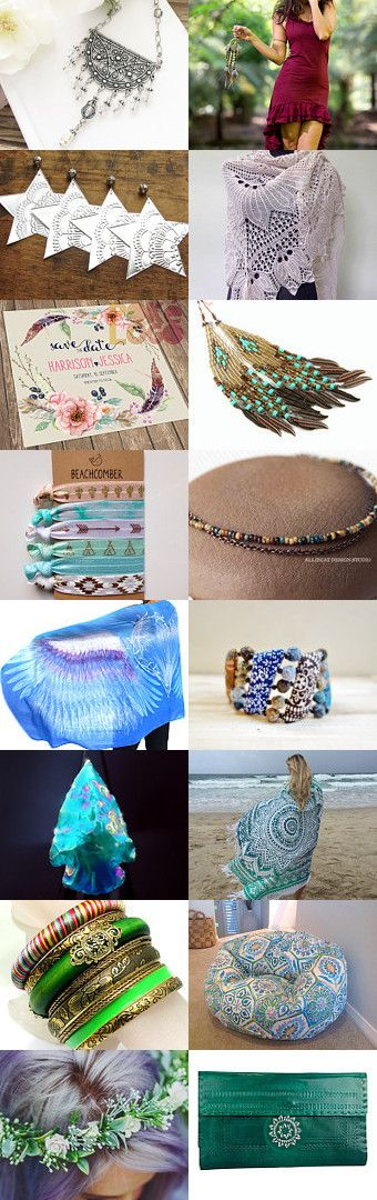 Boho Dreamer by Melody on Etsy--Pinned+with+TreasuryPin.com