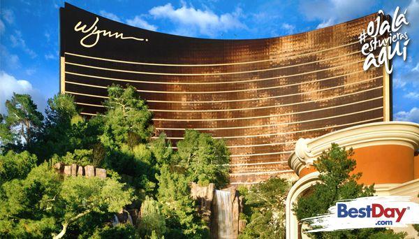 Wynn Las Vegas es un reconocido y premiado lujoso hotel y casino de Las Vegas, en Nevada. Dentro de este resort de 50 pisos, encontrarás que la opulencia, elegancia y estilo abundan en cada rincón de la propiedad. Ofrece restaurantes y bares de renombre, exquisitos alimentos y bebidas, así como lujosas habitaciones y exclusivos shows nocturnos. #OjalaEstuvierasAqui