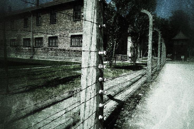 Auschwitz - fence (by maaki on 500px)