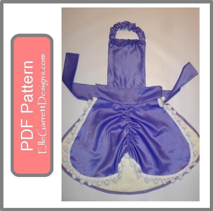 First Princess Apron pattern on Craftsy.com