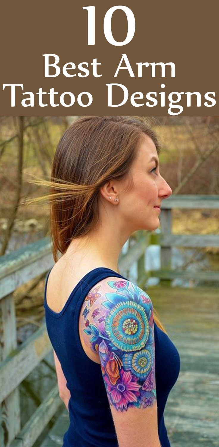 Best Arm Tattoo Designs – Our Top 5 Picks