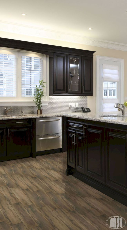 Best 20  Dark kitchen floors ideas on Pinterest   Dark kitchen cabinets  ideas  Dark kitchen cabinets and Dark cabinetsBest 20  Dark kitchen floors ideas on Pinterest   Dark kitchen  . Dark Wood Floor Kitchen. Home Design Ideas