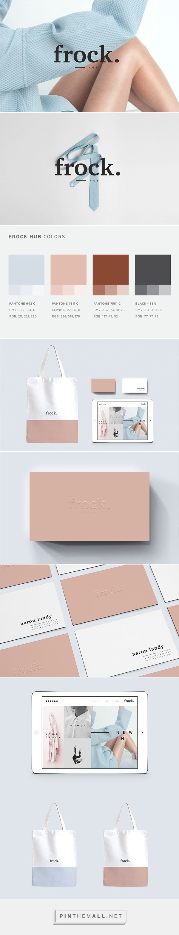 Frockhub on Behance - created via http://pinthemall.net