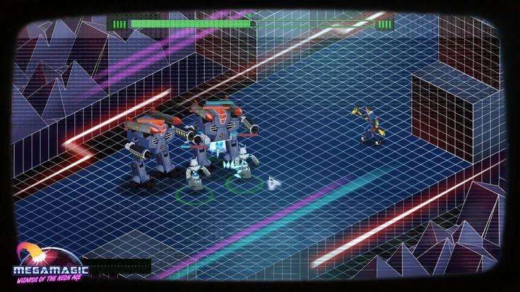 Студия BeautiFun Games пришла на Kickstarter и в Steam Greenlight со своей стратегией Megamagic: Wizards of the Neon Age, посвящённой всем неповзрослевшим детям 80-х и 90-х. Техномагия, много-много неона, роботы, монстры, зомби... Для полного счастья не хватает только динозавров.