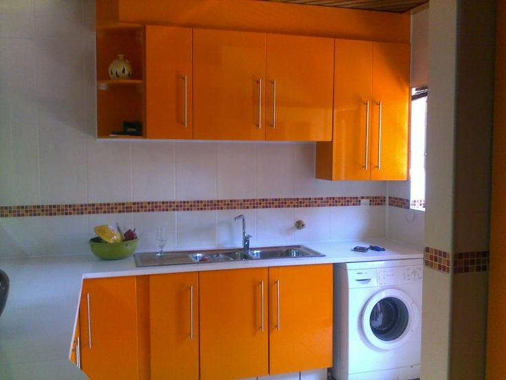 Orange cabinets, Cabinets and Orange on Pinterest