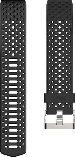 Fitbit - Sport Wristband for Fitbit Charge 2 Activity Trackers - Large - Black