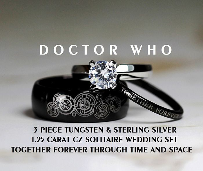 Doctor Who Rings