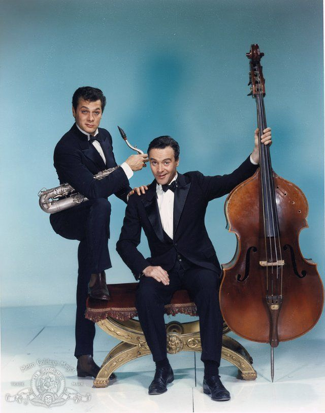 Tony Curtis and Jack Lemmon - Great actors and the funniest double act ever in Some Like It Hot