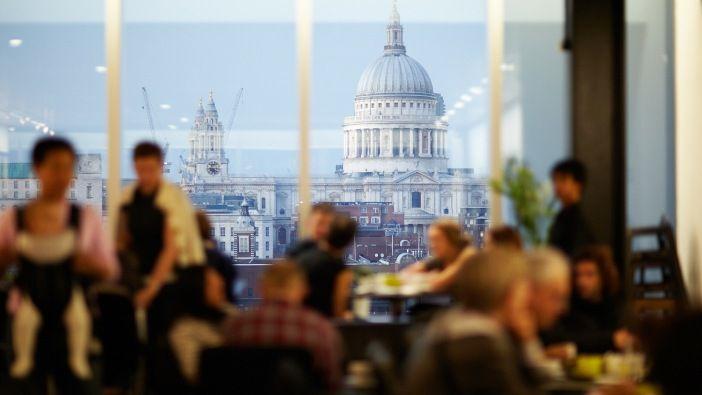 Tate Modern Restaurant & Bar - Southwark - Views of London - Closed for refurb until 7th April