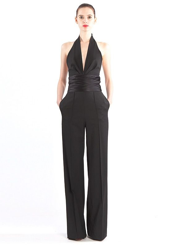 Catherine Malandrino: A jumpsuit for a formal occasion! Description from pinterest.com. I searched for this on bing.com/images