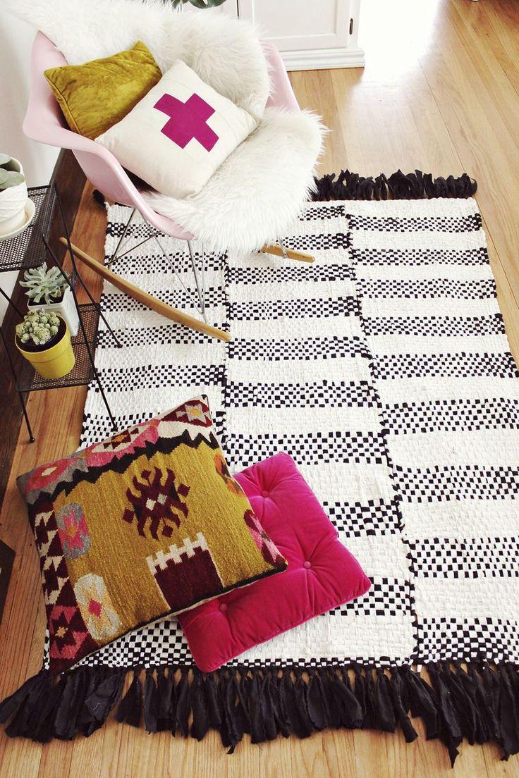 DIY: hand woven rug