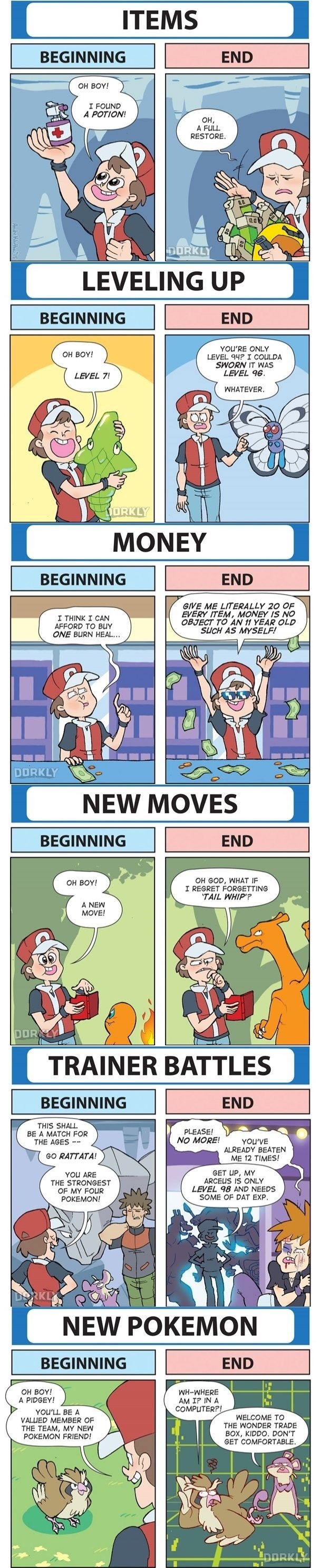 It's Easy to Get Burnt Out By the End of a Game of Pokémon #compartirvideos.es…