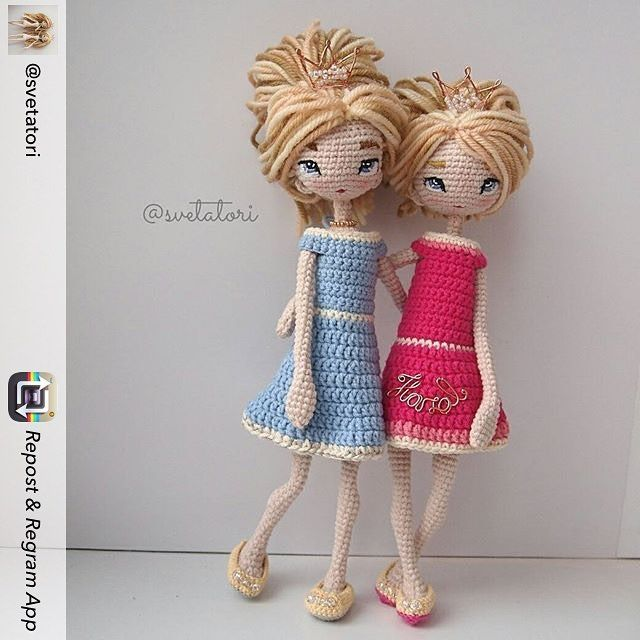 Repost from @svetatori using @RepostRegramApp - Ну вот и все, готовы! Мне трудно далось одевание,но доделать было надо!) Результат приличные и милые принцессы)