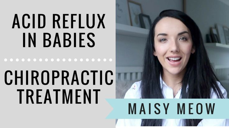 Maisy Meow: Can a Chiropractor cure acid reflux in babies?