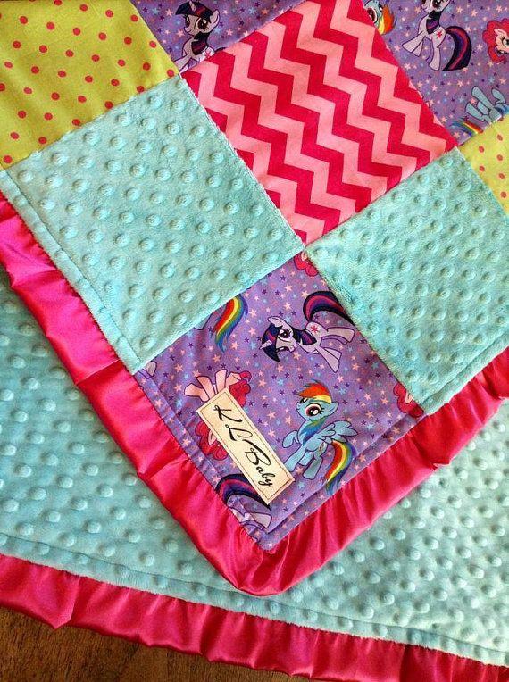 My Little Pony Blanket by KLBaby on Etsy, $50.00