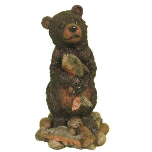 """Standing bear holding fish Case Pack 2 by DDI. $129.98. Please refer to the title for the exact description of the item. Allof theproductsshowcased throughoutare100%OriginalBrand Names.. 100% SATISFACTION GUARANTEED. Standing bear holding fish. An innocent looking bear cub is holding a fish tightly with two arms. Who can say no to that face? 8""""""""x7.5""""""""x13.5"""""""""""" Case Pack 2 Please note: If there is a color/size/type option, the option closest to the image will be..."""