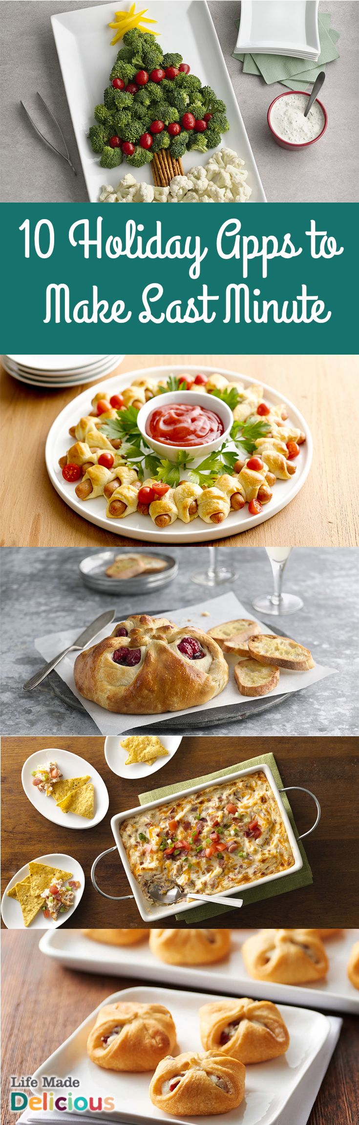 10 Holiday Party Appetizers to Make Last Minute