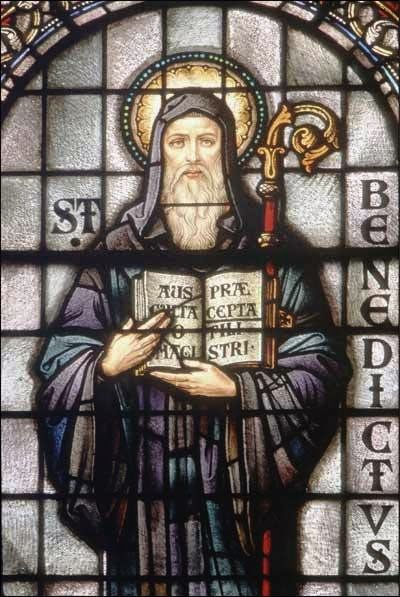the western monasticism was shaped by saint benedict of nursia Define benedict of nursia benedict of nursia  order is considered the patriarch of western monasticism  pope benedict xv and saint benedict of nursia.