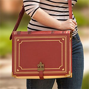 Olde Book Messenger Bag | ThinkGeek --- freaking awesome but looks super small though...
