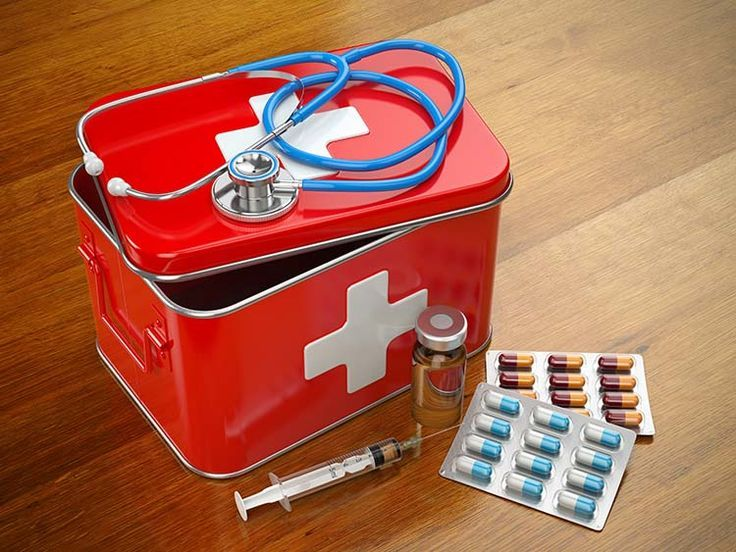 Luxury Metal First Aid Cabinet