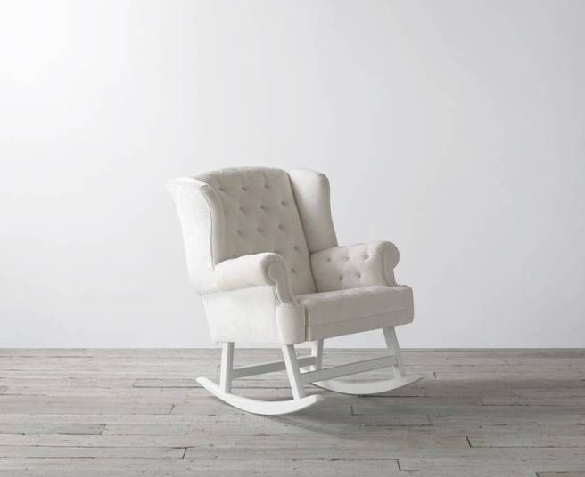 Designer Nursery Rocking Chair.