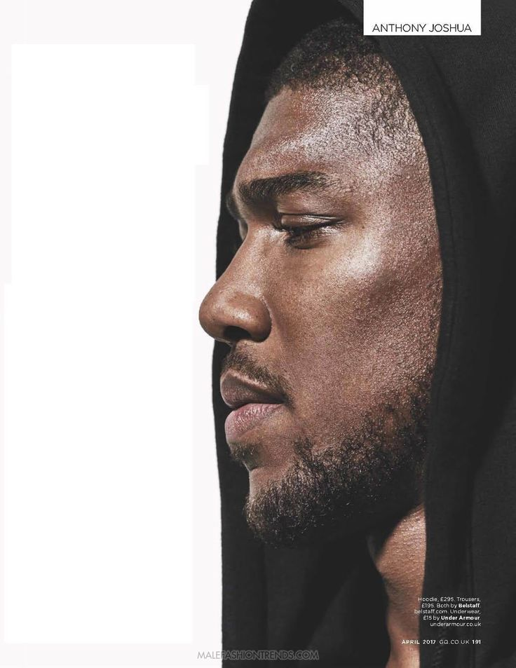 Anthony Joshua para British GQ Abril por Mariano Vivanco