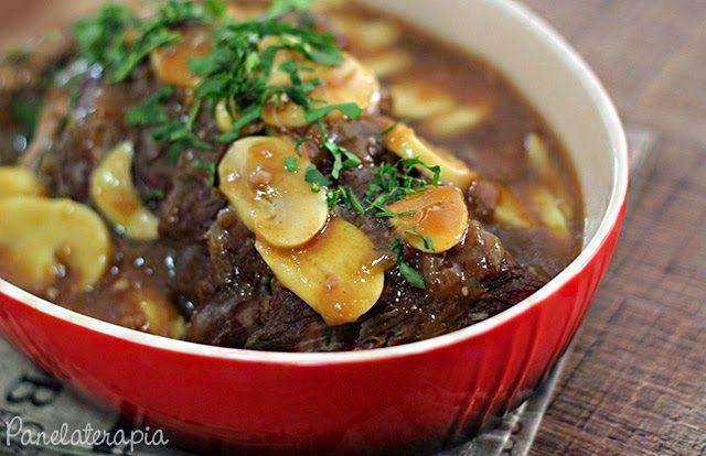 PANELATERAPIA - Blog de Culinária, Gastronomia e Receitas: Maminha ao Molho de Vinho